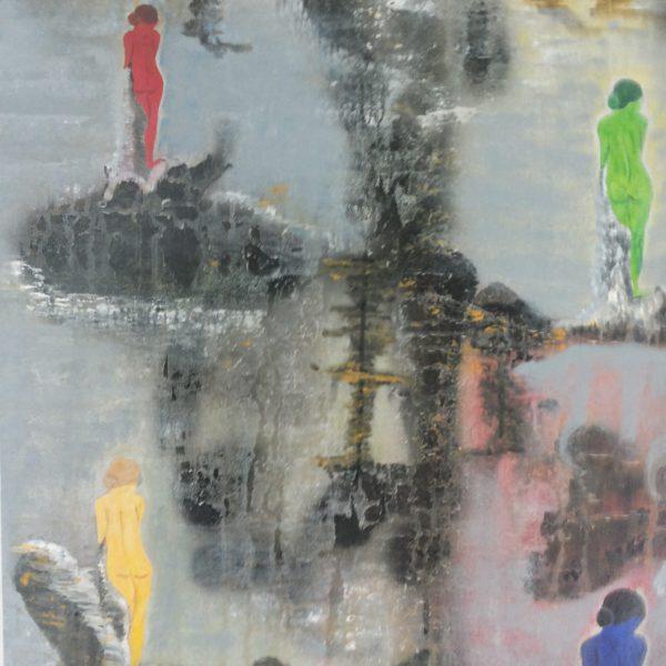 Abschied, 50 x 70 cm
