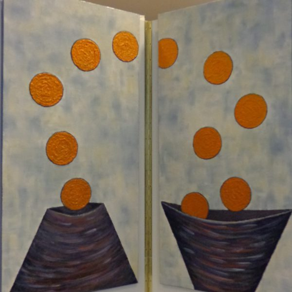 Auf und Ab, 50 x 100 cm ,Einzelbild