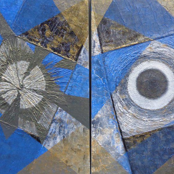 Geometrisch, 140 x 100 cm