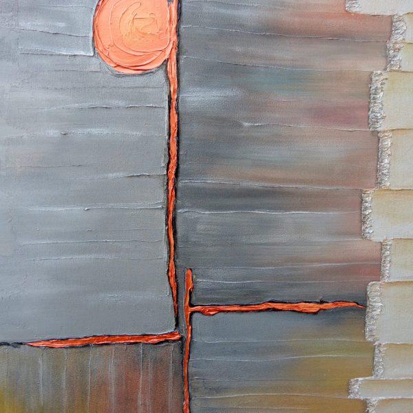 Kupferkreuz, 80 x 100 cm