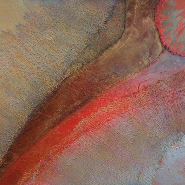 Lava, 120 x 100 cm