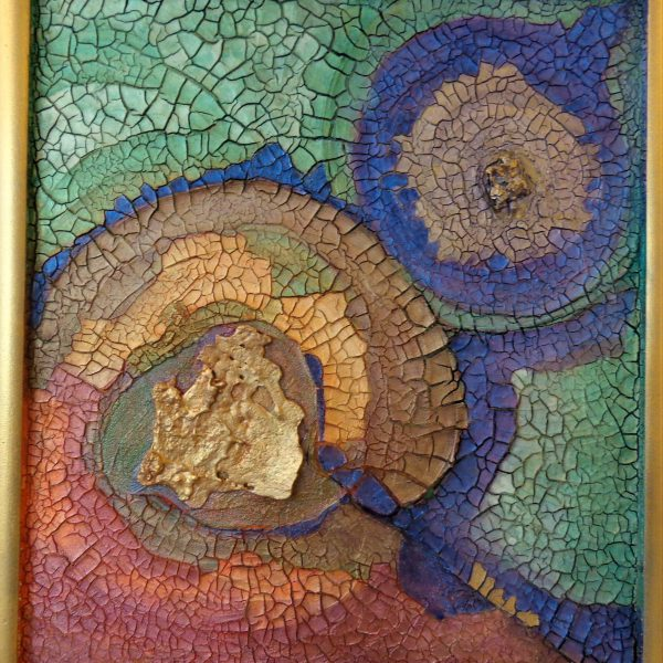 Marmor Wandobjekt, 60 x 60 cm