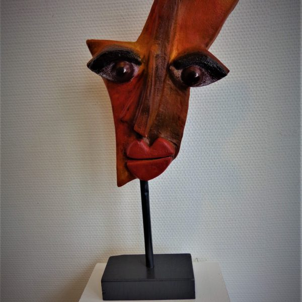 Maske, 58 cm hoch