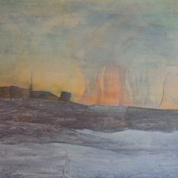 Morgenrot,120 x 80 cm