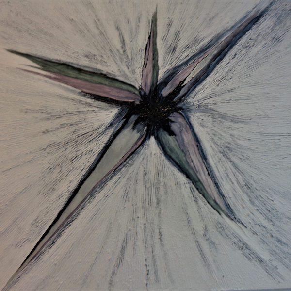 Stern, 100 x 100 cm