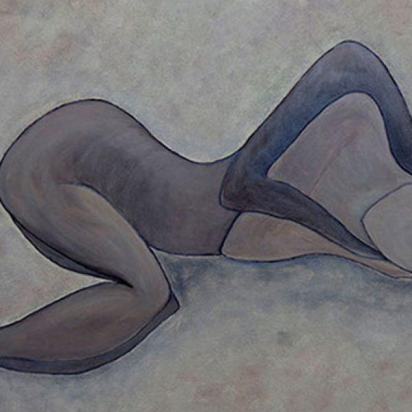 Symbiose, 100 x 80 cm