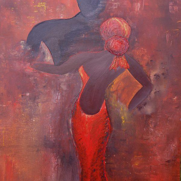 Tango 1, 80 x 120 cm