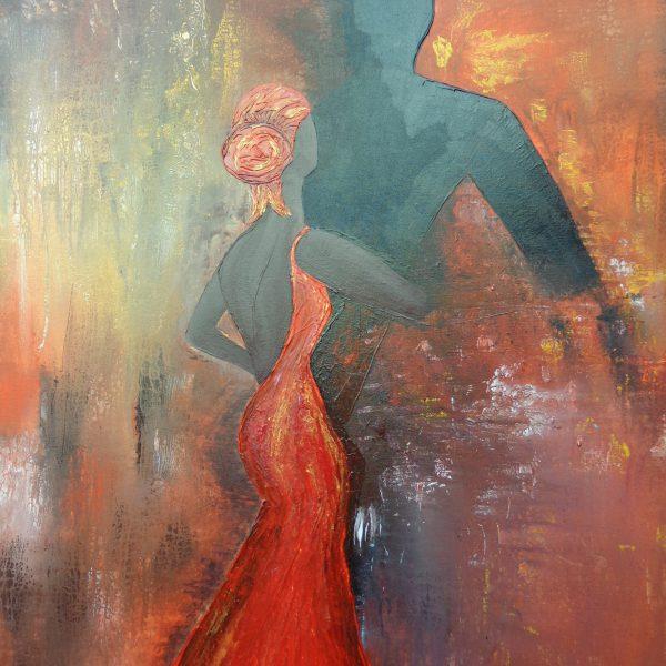 Tango 2, 80 x 120 cm