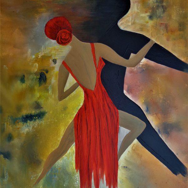 Tango 3, 80 x 120 cm
