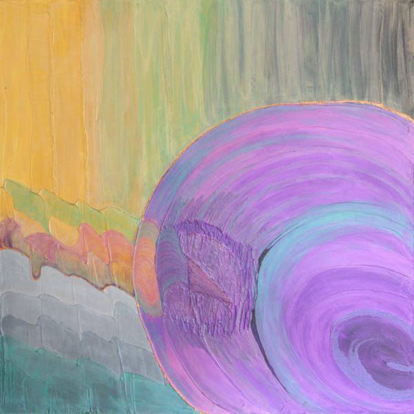 Turbulenzen, 100 x 100 cm