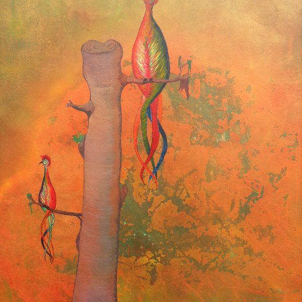 Verlorenes Paradies, 70 x 100 cm