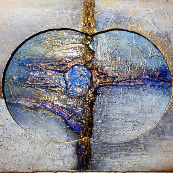 Wandlampe, 60 x 40 cm