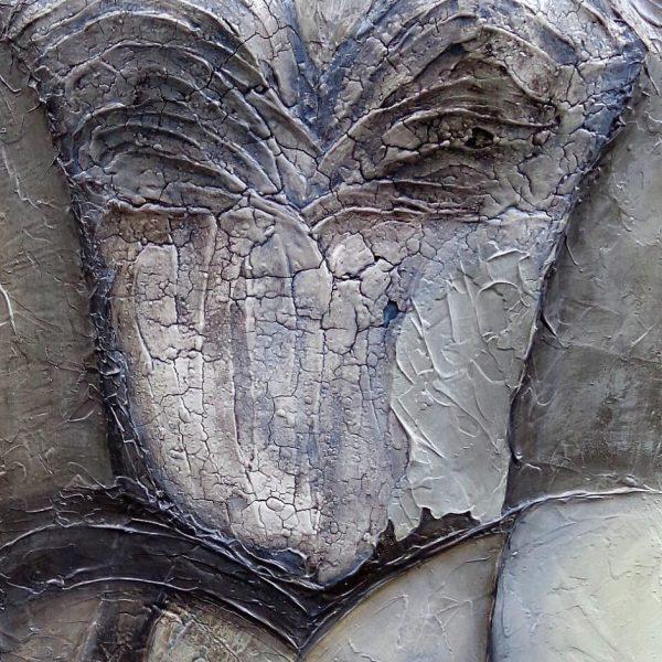 Weiblichkeit, 40 x 120 cm